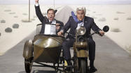 "On Monday night, Jay Leno and Jimmy Fallon addressed the rampant speculation about the future of ""The Tonight Show"" the way any of us would: by performing a song from ""West Side Story."""