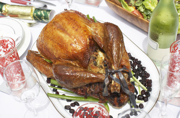 Brining is best for lean meats that tend to dry out when cooked, such as this turkey.