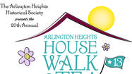 The Arlington Heights Historical Society presents the 20th Annual House Walk and Tea on Sunday, June 9, 2013 from 12-5pm.  Spend a lovely summer afternoon visiting five architecturally significant homes in the Arlington Heights community and enjoy a delightful tea with sweets, finger sandwiches and chocolate dipping station