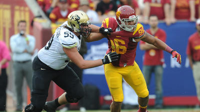 Colorado offensive lineman David Bakhtiari visited Ravens, sour…