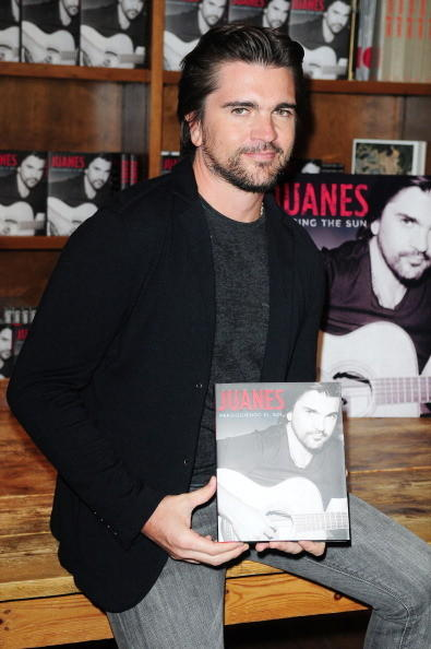 Celeb-spotting around South Florida - Juanes
