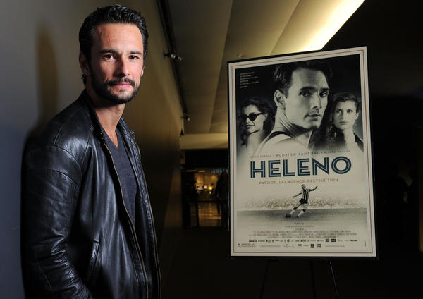 "Rodrigo Santoro stars in ""Heleno,"" a movie that will be shown at Valencia College's Brazilian Film Festival."