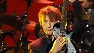 Richie Sambora and Jon Bon Jovi perform