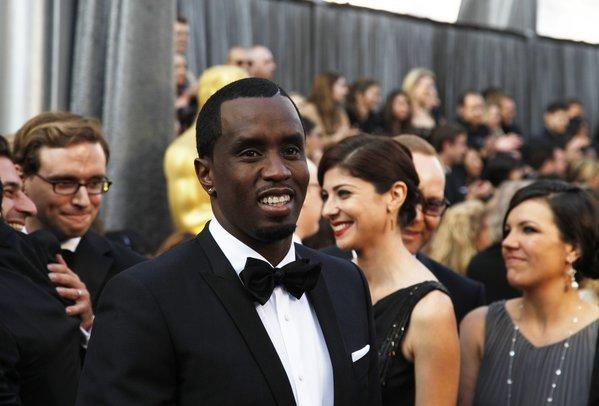 Sean Combs at the 84th Annual Academy Awards show at the Hollywood and Highland Center in Los Angeles.