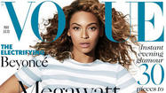 Beyoncé covers Vogue UK's May 2013 issue