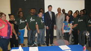 Rep. Schneider w/YCC & YBLC Members