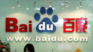 Baidu, Google's Chinese rival,