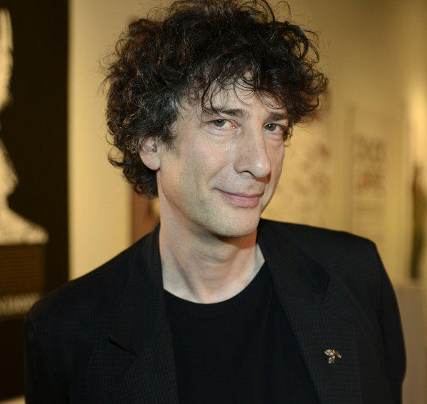 Neil Gaiman photographed at SXSW in 2013.