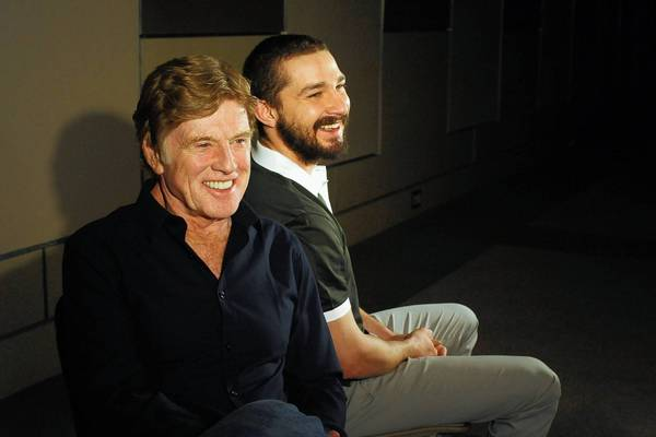 "Robert Redford and Shia LeBeouf star in ""The Company You Keep."""