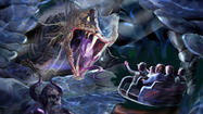 A new motion simulator-based dark ride that tells the story of Norse gods and mythical monsters with 3-D scenes and special effects is set to debut at a Norwegian theme park this summer.