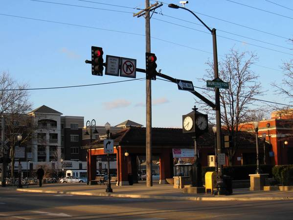 Traffic signals at Burlington Avenue and Main Street in Downers Grove will be equipped with new traffic detection video cameras.