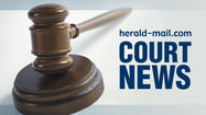 A Hagerstown man was sentenced to 10 years in prison after entering guilty pleas Wednesday in Washington County Circuit Court to a series of 2012 residential burglaries.