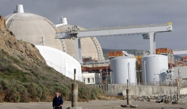 The San Onofre nuclear power plant been idle since January 2012.