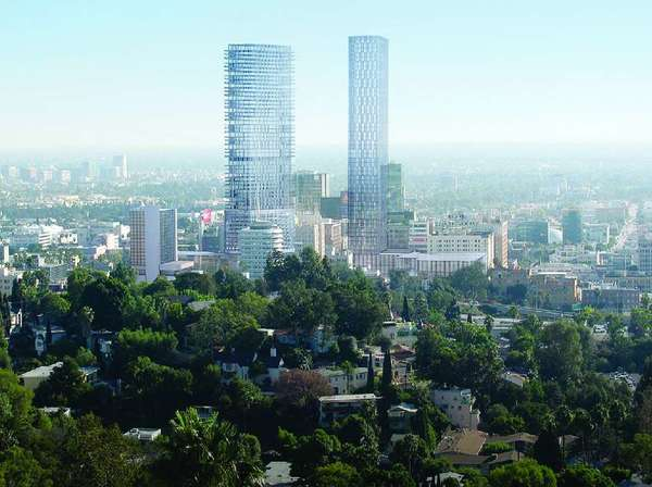 The Millennium Hollywood project, which recently won the approval of the Los Angeles City Planning Commission but still needs the backing of the City Council, would be splayed across 4.47 acres of Hollywood, bordering two sides of Vine Street, weaving around the historic Capitol Records building.