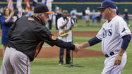 Tampa Bay Rays manager Joe Maddon has seen quite enough of the rejuvenated Orioles over the past year, but he said Wednesday that he fully expects to see them playing meaningful games in September again this season.