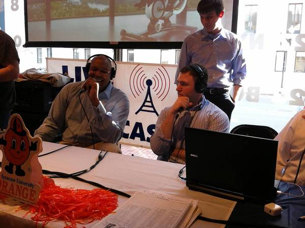Parkland grad Steve Neikam is the co-host of a Syracuse radio show that has followed the Orange to the Final Four.