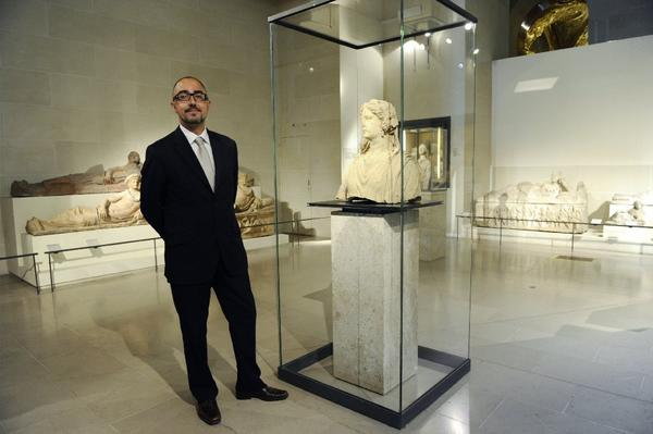 Jean-Luc Martinez has been named the new director of the Louvre Museum in Paris.