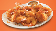 If this doesn't bust your bracket nothing will: Get a free Coconut Shrimp appetizer valued at $8.99 at Outback with any purchase on Tuesday, April 9,  for the Final Four TourneyTizer promo.