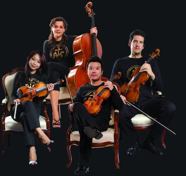 The Stradivari Quartet will perform Saturday, April 6, 2013, at the DeBartolo Performing Arts Center.