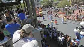 Show goes on for trio of theme park parades