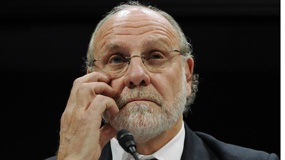 MF Global's former CEO Jon Corzine.