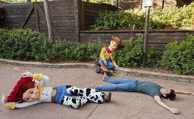 'Toy Story' characters at Walt Disney World