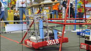 The Petoskey High School robotics team, Petoskey Paladins, that heads for the state finals at Eastern Michigan University Thursday through Saturday, April 11-13, represents the best efforts of students, teachers, industry mentors and community financial support.