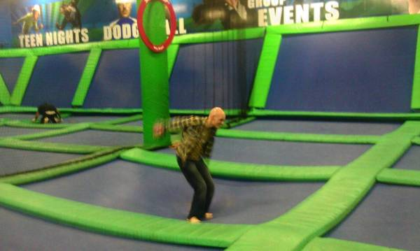The Wingman catches air at AirHeads.