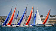 Starting today and through this weekend is the Newport Harbor Yacht Club's sixth annual Baldwin Cup Team Race sailed in Harbor 20s. This event was conceived by NHYC Staff Commodore Bill Palmer and has quickly turned into one of our harbor's most prestigious sailing events.