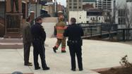 Roanoke Police say the suspicious package attached to the metal supports of the Martin Luther King Jr. Memorial Bridge was an art project.