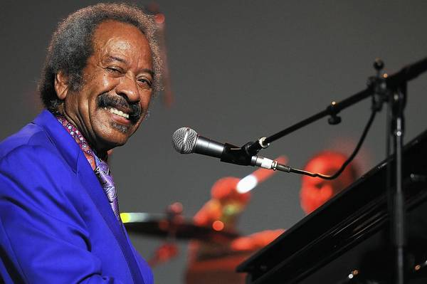 Allen Toussaint performs on stage at Bluesfest 2013 in Australia.