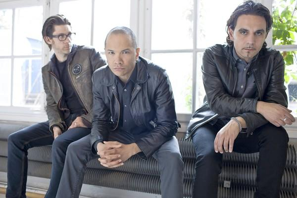 Danko Jones, left to right: Atom Willard, Danko Jones, John 'JC' Calabrese.