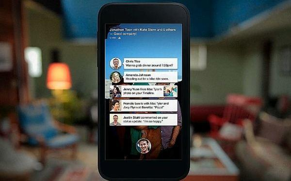 Facebook unveiled Facebook Home, an interface for Android devices.