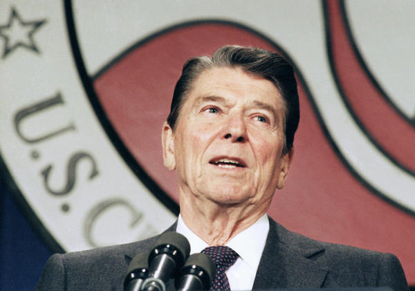 President Ronald Reagan would have supported same-sex marriage, daughter Patti Davis told the New York Times, because of his distaste for government intrusion into private lives and his personal relationships with gays.