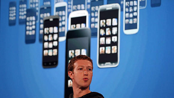 Facebook CEO Mark Zuckerberg speaks during an event at Facebook headquarters on April 4, 2013 in Menlo Park, Calif.