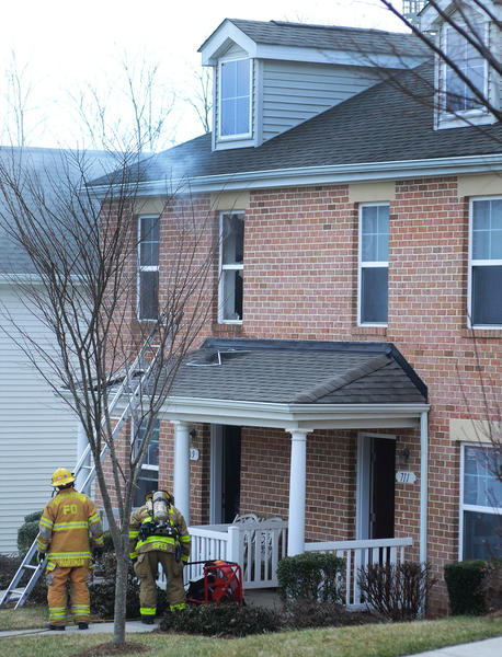 No one was injured in a fire Thursday morning at a 2 1/2-story duplex in the 700 block of Lanvale Street in Hagerstown's West End.