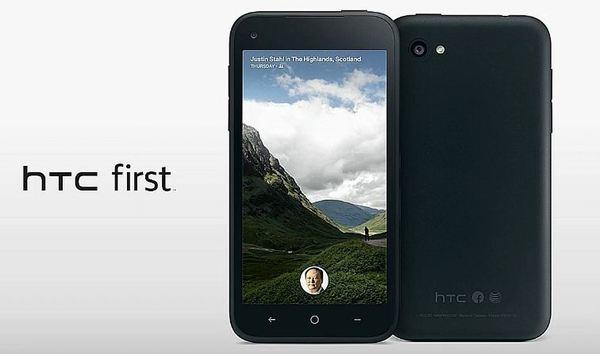"HTC announced the ""First,"" a smartphone optimized for Facebook home."