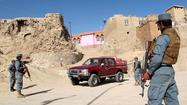 "<a href=""75208381"">KABUL</a>, Afghanistan -- A <a href=""75208381"">NATO</a> airstrike killed four policemen and two civilians on a rural road in Afghanistan's eastern Ghazni province, Afghan officials said Thursday."