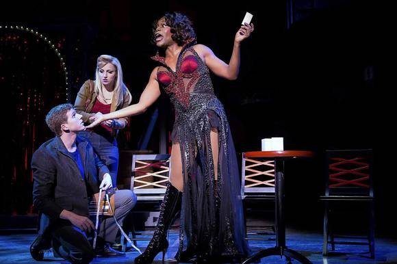 "Stark Sands, Annaleigh Ashford and Billy Porter in ""Kinky Boots"" on Broadway."