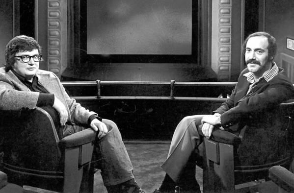 Roger Ebert (left) and Gene Siskel, circa 1976.