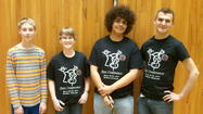Wheaton North students Ben Alston of Wheaton, Kevin Stoffel and Josh Yung of Winfield, and Franklin Middle School student Cameron Fuller of Wheaton participated in a two-day conference for young bassists in Madison, Wisconsin on March 29 & 30, 2013.