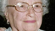 "Mildred ""Tody"" Rhine August 15, 1917 - March 10, 2013"