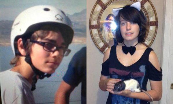 Nicholas Marino, 13, and Kaylee Rebert, 14.