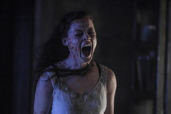 """A scene from the recent remake of """"Evil Dead."""""""