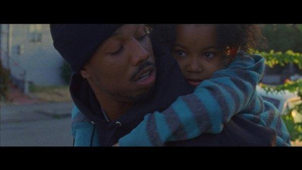 "Michael B. Jordan and Ariana Neal star in a scene from ""Fruitvale,"" which will hit theaters in July."