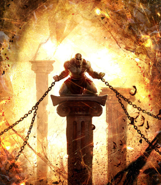 God of war ascension truly ascends to new heights tribunedigital concept art of kratos from god of war ascension voltagebd Choice Image