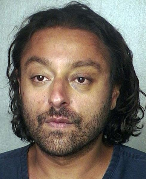 Wealthy hotelier Vikram Chatwal, 41, was arrested on drug charges at Fort Lauderdale Hollywood International Airport