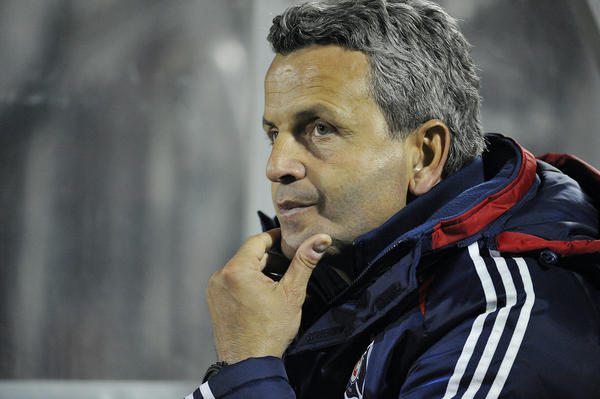 Fire coach Frank Klopas has the support of team management despite a slow start.