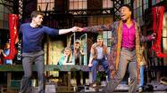 Review: 'Kinky Boots' is unsteady in its Broadway walk