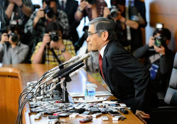 Haruhiko Kuroda, who took the helm at the Bank of Japan two weeks ago, has vowed aggressive action to boost the economy.